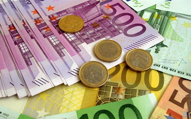 Money Euro Banknotes Coins Wallpaper HD